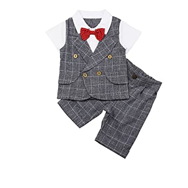 aa68d80b8 Amazon.com  Baby Boy Outfit