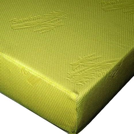 """Hospitalidad cama 10 """"bambú carcasa colchón con cremallera de repuesto para espuma de memoria"""