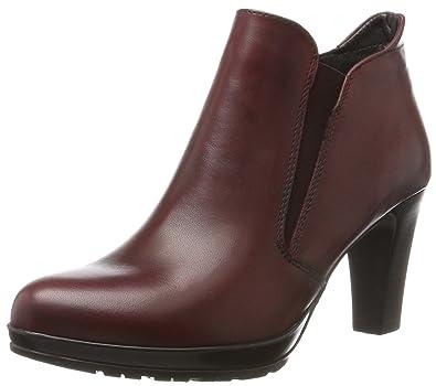 30570d35e1ff42 Tamaris Damen 25395 Stiefel Rot (Bordeaux) 40 EU  Amazon.de  Schuhe ...