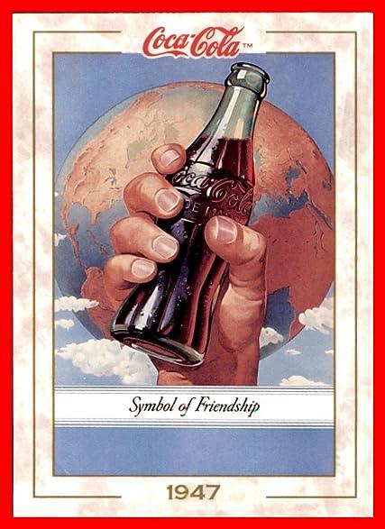 1993 Coke Trading Card Coca Cola 50 Symbol Of Friendship At