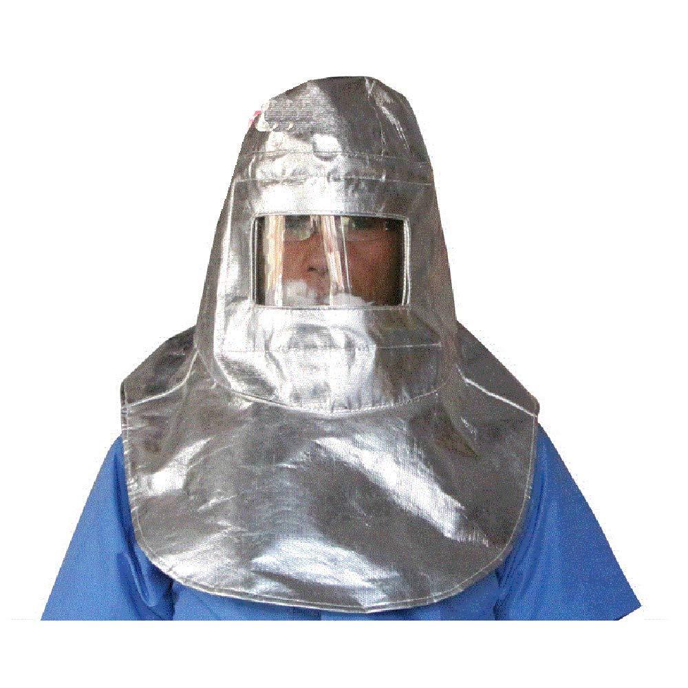 LANTAO Thermal Radiation 1000 Degree Heat Resistant Aluminized Suit Fireproof Cap