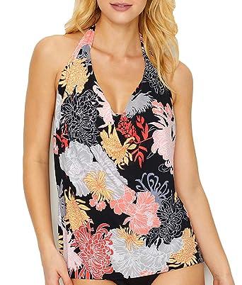 d40d361dfe Magicsuit Women's Lotus Blossom Sophie Top Black/Multi 8 at Amazon Women's  Clothing store: