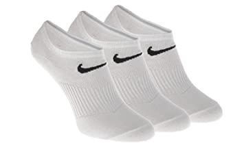 Nike Calcetines 3 Pares Pack Performance algodón blanco Tamaño 8 A 11
