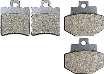 Polaris 425 Magnum 4X4 Semi-Metallic Brake Pads Rear Brakes fits 1995-1998