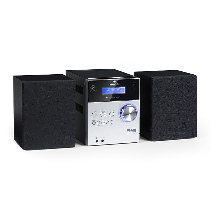 3 opinioni per auna MC-20 DAB • Mini Impianto Stereo compatto Hi Fi • Sintonizzatore Radio DAB+