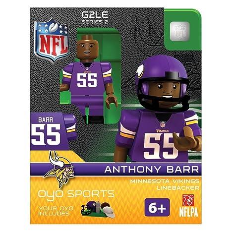 51ff7e9b NFL Minnesota Vikings Anthony Barr G2 OYO Minifigure