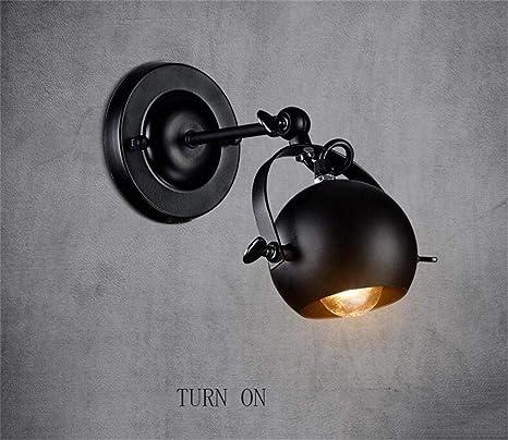 Amazon.com: CWJ Lámpara de pared decorativa para dormitorio ...