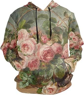 Amazon.com: Retro Elegant Floral Art Europe Oil Painting