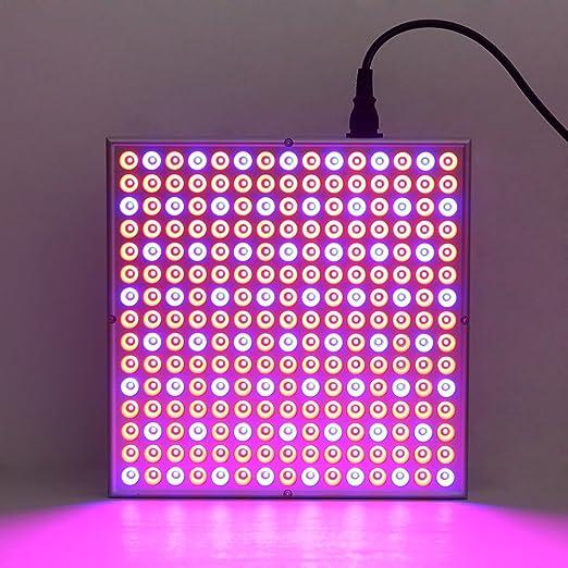 22 opinioni per DECKEY Lampada LED Per Piante Illuminazione Coltivazione Pannello Quadrato Luce