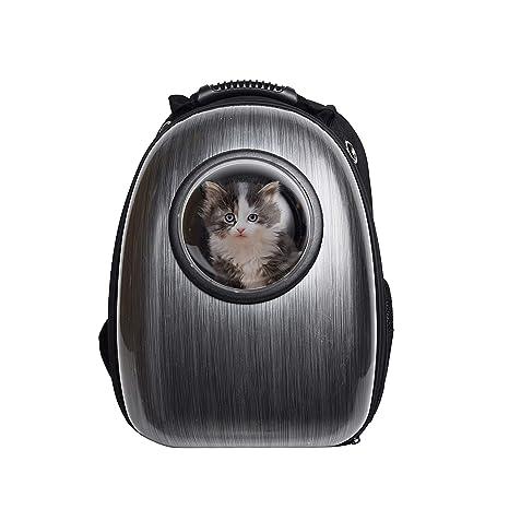 9e330d29d81f BOSON Pet Cat Dog Carrier Backpack Traveler Bubble Space Capsule Travel Bag  Breathable Tote for Kitten