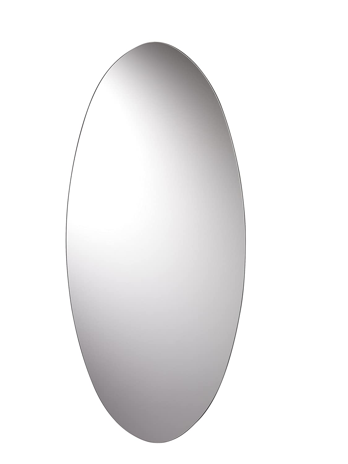 Croydex Devoke Double Layer Wall Mirror 28-Inch x 20-Inch with Shelf and Hang 'N' Lock Fitting System MM700300AZ