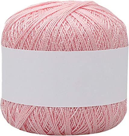Hilo de lana para tejer de 25 colores, hilo de algodón fino para tejer, hilo de ganchillo 8º, R, talla única: Amazon ...