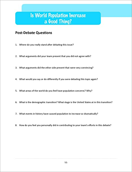 Amazon.com : Easy Debates for the World Geography Classroom Book ...