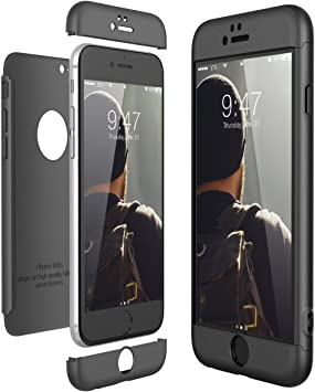 CE-Link Funda para Apple iPhone 6 6S Rigida 360 Grados Integral ...