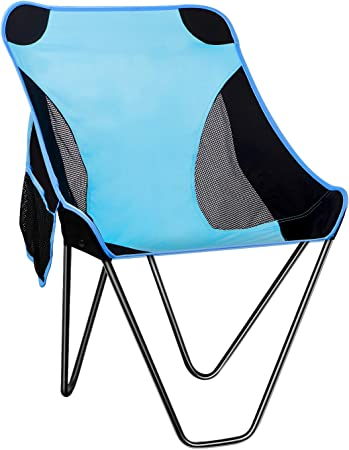 Fishing Asteri Folding Camping Chair Lightweight Portable Chairs Compact Backpacking with Carry Bag for Outdoor Picnics Hiking Beach