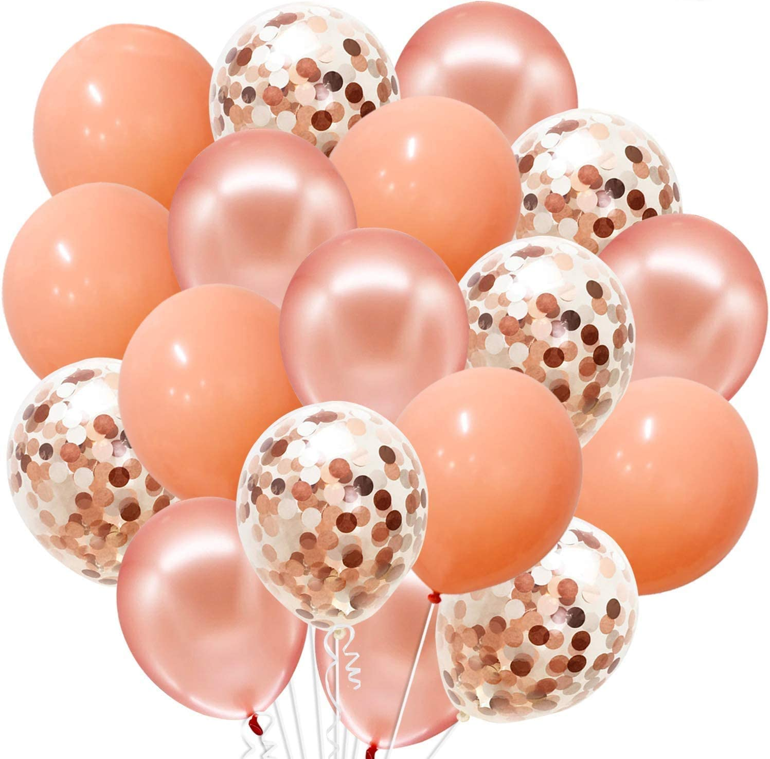 20 Ft String Included Rose Gold Foil Balloons POP FIZZ CLINK Same Day Shipping Monday-Saturday Blue Magenta Pink 16 Gold