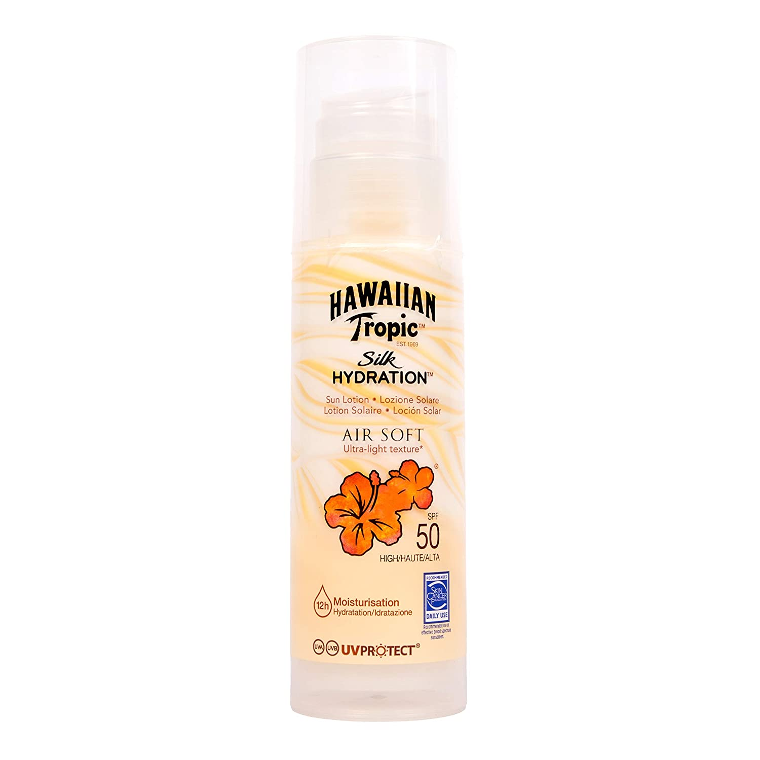 deb06b4703 Hawaiian Tropic Silk Hydration Air Soft Sun Lotion (SPF 50