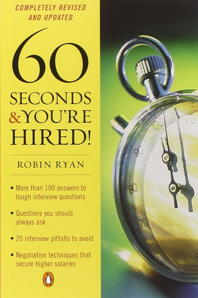 60 seconds and you re hired robin ryan 9780143112907 books 60 seconds and you re hired robin ryan 9780143112907 books amazon ca