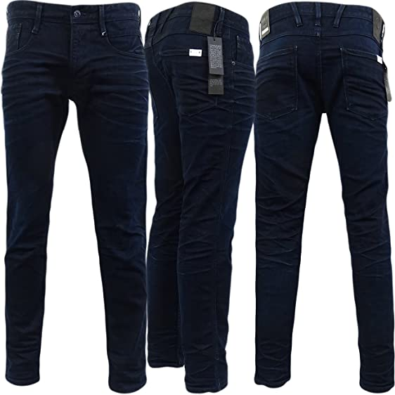 Mens Replay Dark Denim Jean - Anbass  Slim Fit Denim Jeans  Dark Denim W32 4487ec73e8ac
