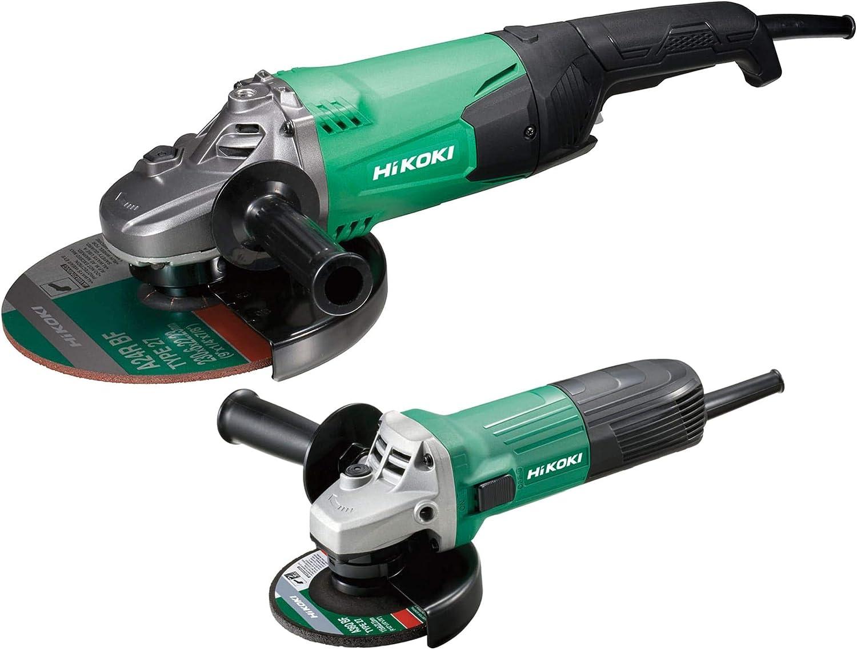 HiKOKI G12STX/G23ST twin pack grinders Angle, 230 Volt Version, 230mm 9