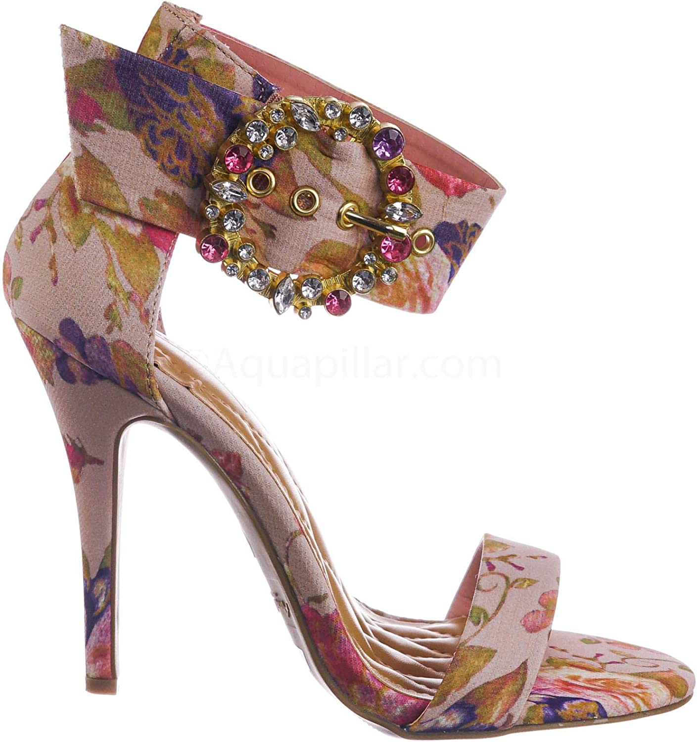 """4.5/"""" High Heel Shoes So Me Pink Neon Sateen Pointy Toe Stiletto Pumps"""