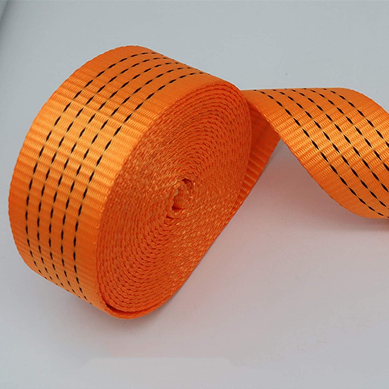 Size : 3t//3m Ceinture de Remorquage,Corde de Remorquage 4x4 Usage Intensif,Sangle de Remorquage en Nylon,avec 2 Crochets de S/écurit/é,Sangle Treuil C/âble de Remorquage pour Route