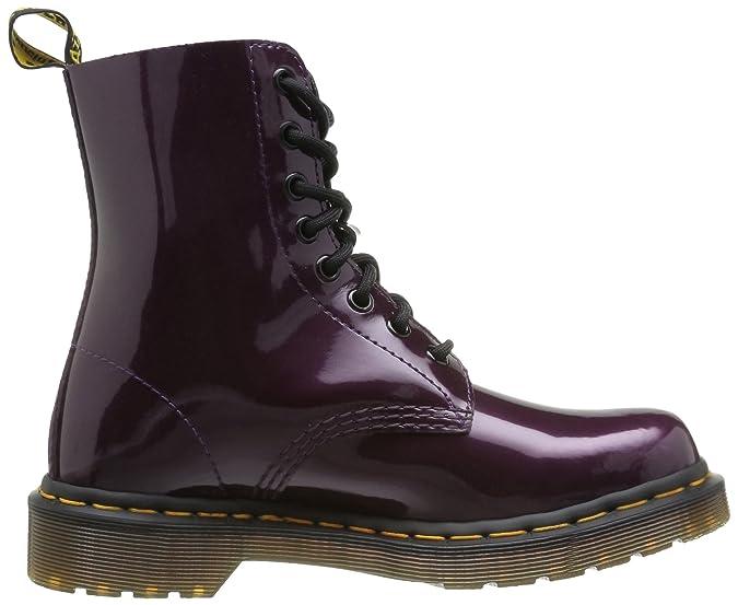 Dr. Martens PASCAL Spectra Patent PURPLE - Botas militares, talla: 36, color: Violeta - Violett (purple): Amazon.es: Zapatos y complementos