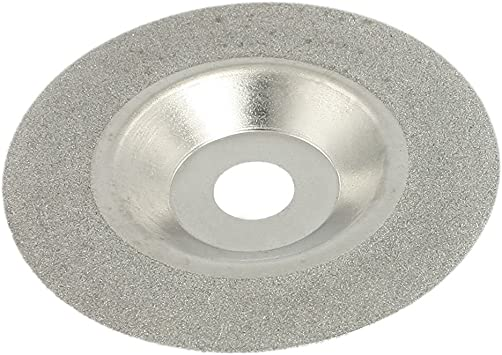 SHDIATOOL 4 Diamond Cutting Grinding Disc Fits 5//8-11 Arbor for Marble Ceramic Double Sided Vacuum Brazed Fast Cutting Shaping Grinding Wheel
