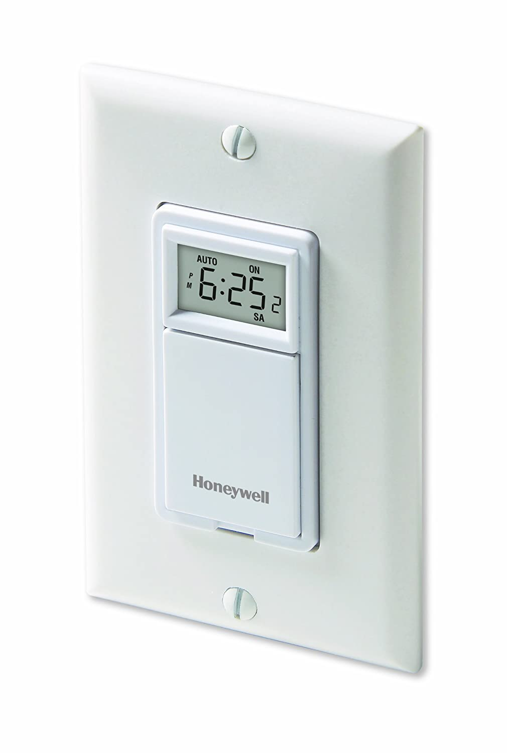 Honeywell Rpls530a 7 Day Programmable Timer Switch Outside Light Wiring White Requires 40 W Minimum Home Improvement