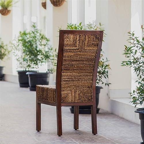 International Caravan Furniture Piece Dallas Abaca Weave Dining Chair