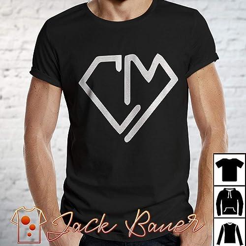 4380ca25da3 Amazon.com  Cash   Maverick Baker Logo T-Shirt Long T-Shirt ...