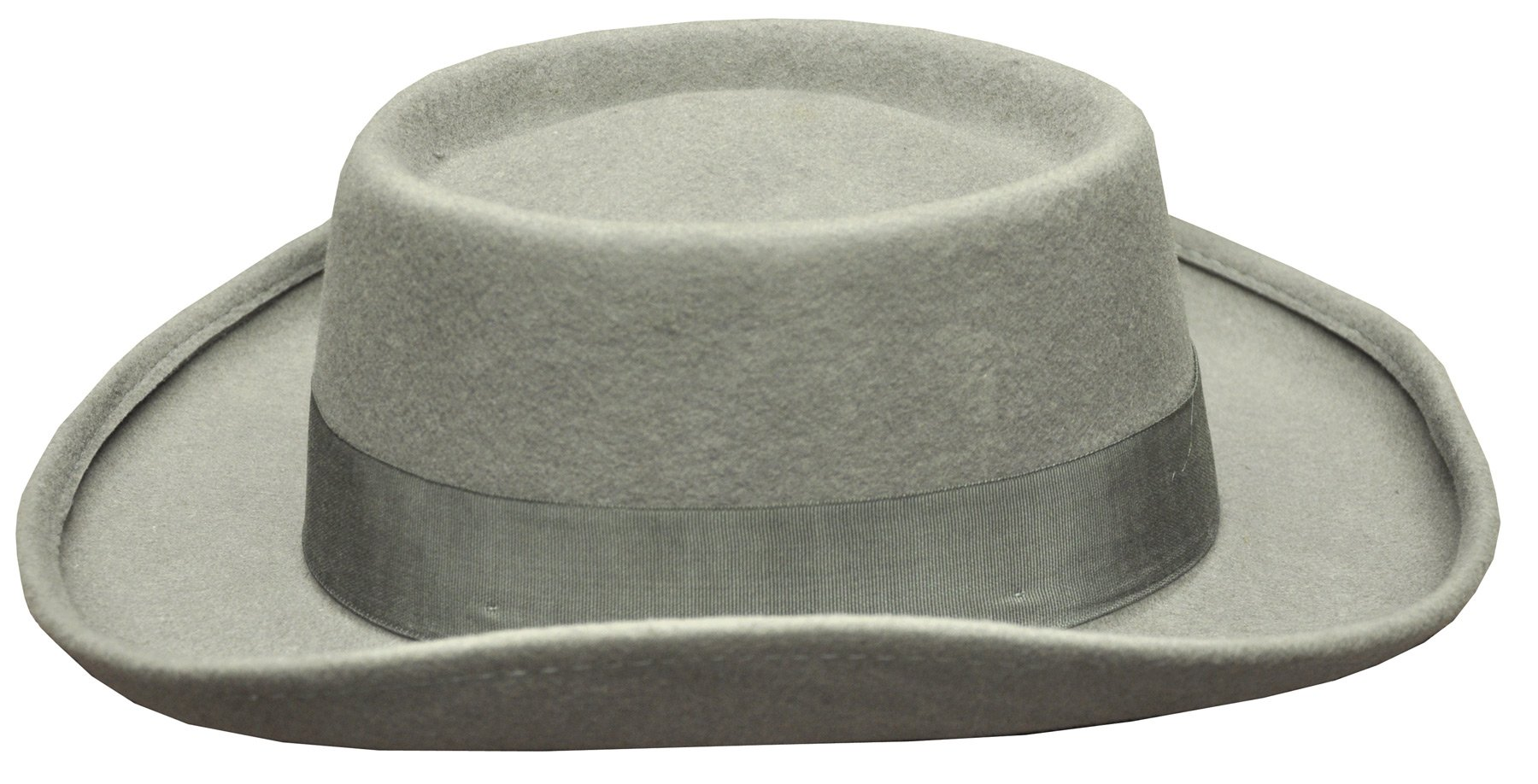 UHC Adult Men's Planter Panama Style Straw Summer Hat Costume Accessory (Grey), L