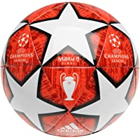 adidas Taille 4 2019 Champions League Madrid Ballon de Football Final, Rouge/Blanc Ans 8-12 Années