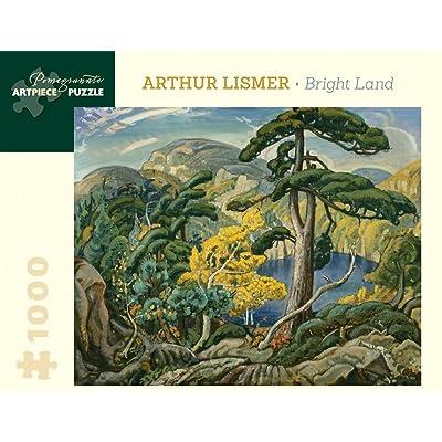 Pomegranate Arthur Lismer Bright Land: 1000 Piece Puzzle: Lismer, Arthur: Toys & Games