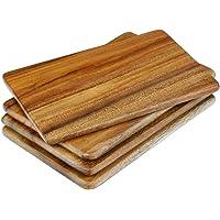 Davis & Waddell DTA0354 Acacia Serving Board Set/4, Natural