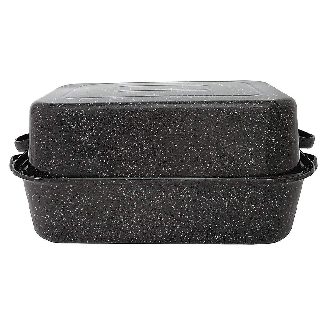"Granite Ware 0511-3 22"" GraniteWare Covered Rectangle Roaster"