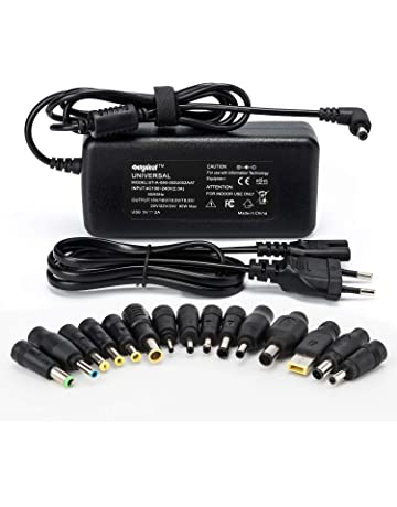 Sunydeal Computadora portátil Cargador Universal Fuente de alimentación Adaptador Cable ordenador 15V 16V 18.5V 19V