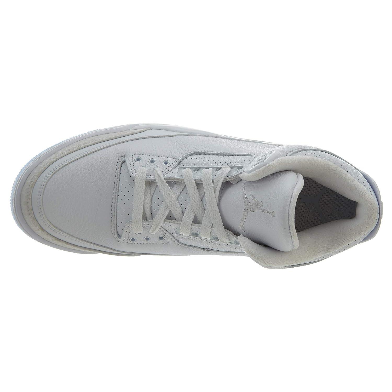 messieurs et mesdames les hommes jordan est air 3 3 3 rétro, blanc / blanc prix fou, birmingham déminage très bonne couleur 96bd6c
