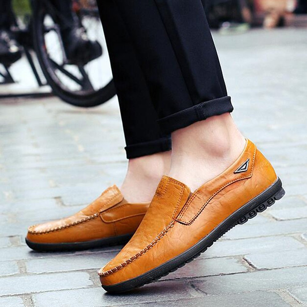 CJC Herren Beiläufig Eben Faulenzer Mode Unterhose auf Größe Fahren (Farbe : T3, Größe auf : EU42/UK8.5) T2 04fc20