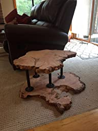 furniture as time goes by you will need to go to the hardware store and purchase screws to attach the legs with what you get is exactly as described black steel pipe furniture