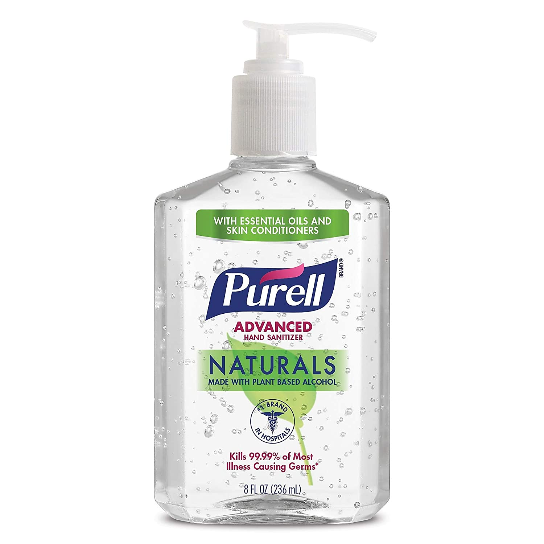 Amazon Com Purell 2609712 Advanced Hand Sanitizer 8 Oz Pump