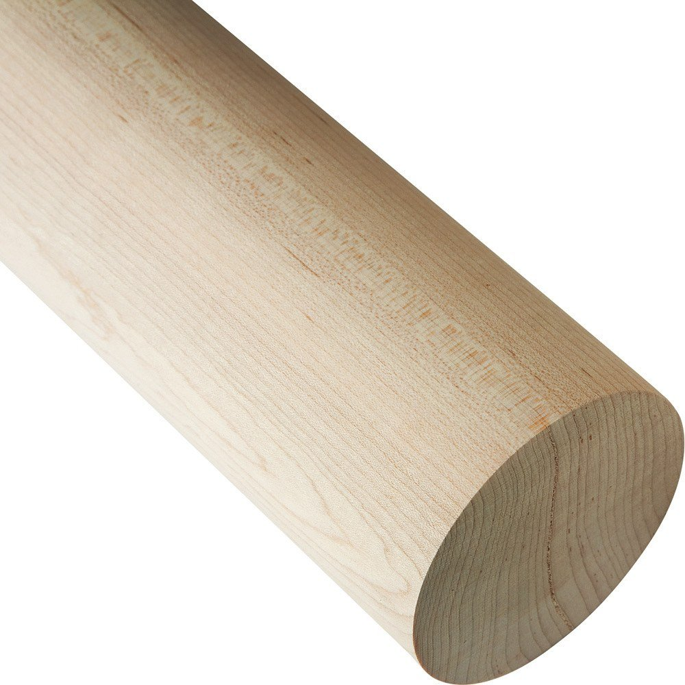 "Large 3"" Diameter Dowel Rods - Oak"
