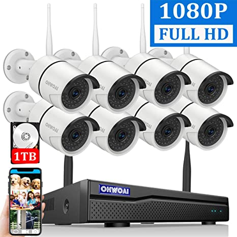 Best Home Security Camera System 2020.2020 New Security Camera System Wireless 8 Channel 1080p