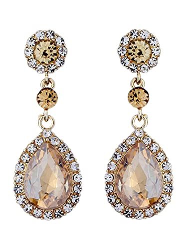 d6719b51a913f Amazon.com: Champagne Chandelier Earrings, Chandelier Earrings ...
