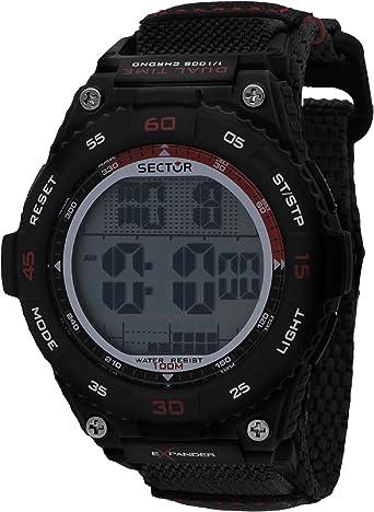 Sector Reloj Hombre de Digital con Correa en Nailon R3251594002