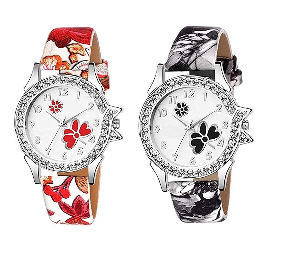 Watch City  Analogue Multicolour Girl's and Women's Watch -Combo of 2@Rs.270