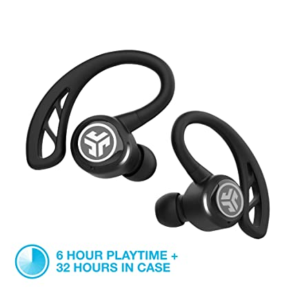b38ad2e81a4 Image Unavailable. Image not available for. Colour: JLab Audio Epic Air  Elite True Wireless Bluetooth Sport Earbuds ...