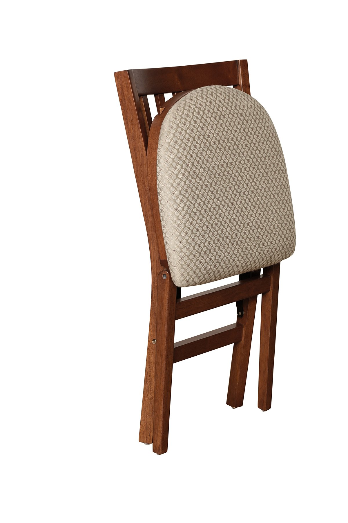 Stakmore School House Folding Chair Finish, Set of 2, Cherry by MECO (Image #2)