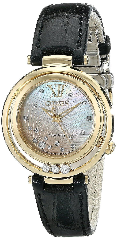 [シチズン]Citizen 腕時計 L Sunrise Analog Display Japanese Quartz Black Watch EM0322-02Y レディース [並行輸入品] B00XEV2JYM