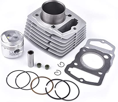 Single Cylinder Engine Top End Rebuild Kit For Honda CB125S CL125S XL125 125cc